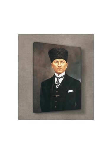 Artikel Atatürk-6 Kanvas Tablo 50X70 Cm Renkli